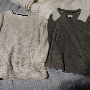 Lou & Grey sweaters lot of 2